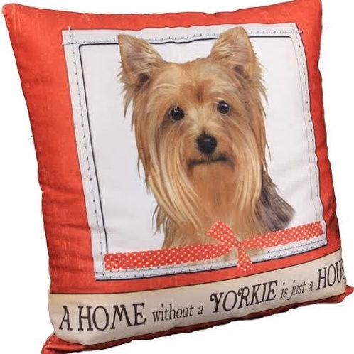 Yorkie Super Soft Pet Pillow