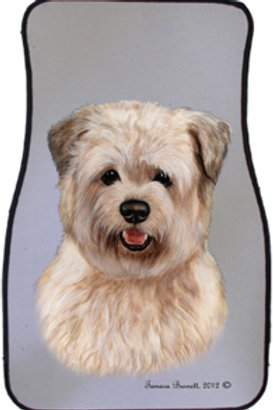 Glen of Imal Wheaten Terrier Best of Breed Car Mats (set of 2)