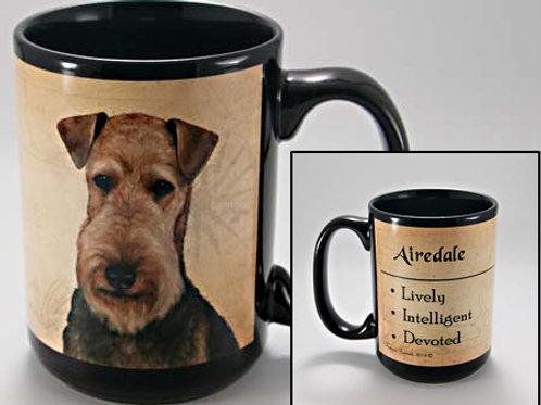 Airedale - My Faithful Friend Mug