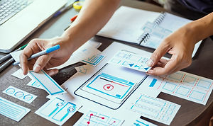 ux designer creative Graphic planning ap