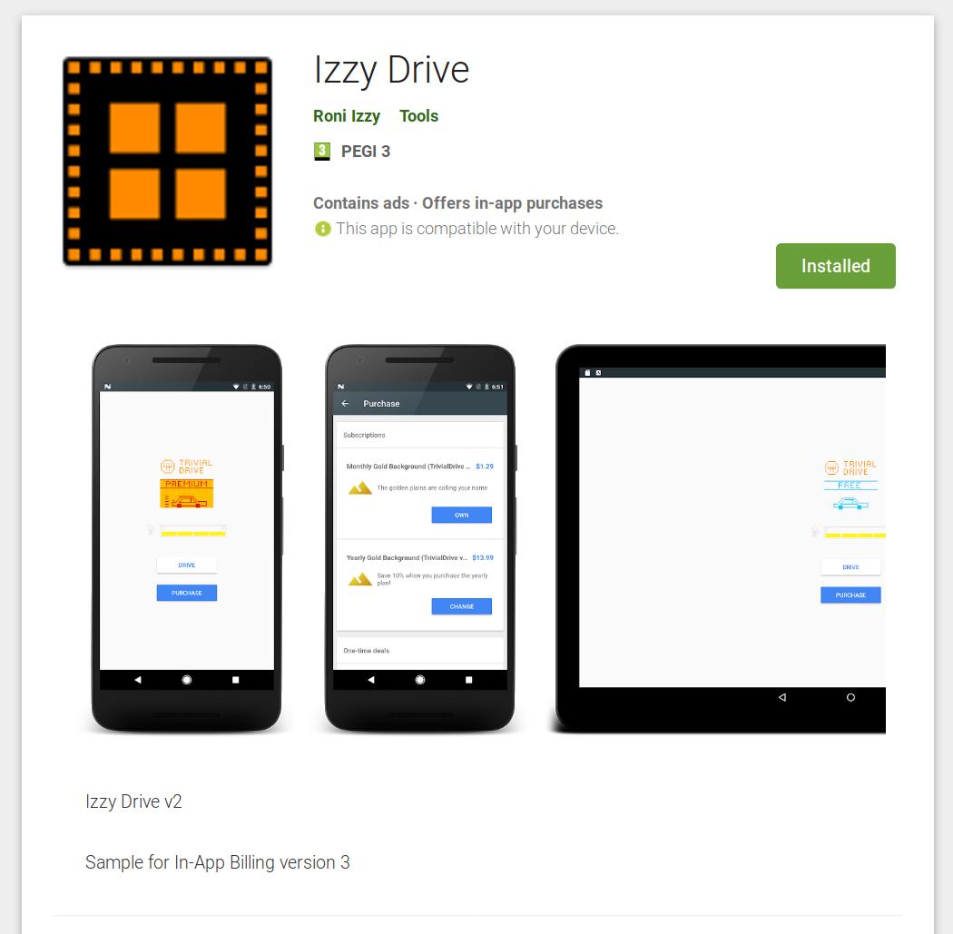 Izzy Drive