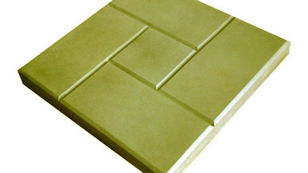 "Тротуарная плитка ""Калифорния"" 300х300х30 цв.желтый"
