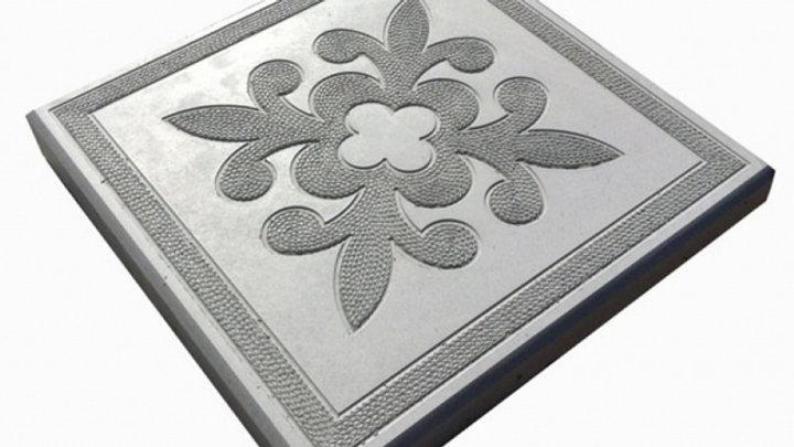 "Тротуарная плитка ""Краковский квадрат"" 300х300х30 цв. серый"
