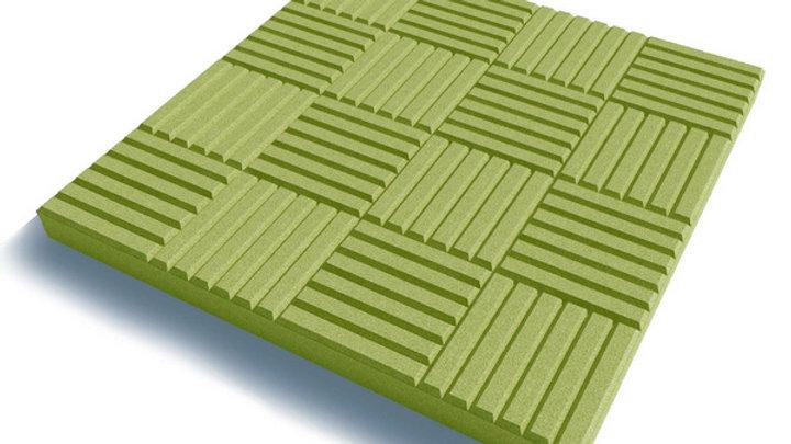 """Тротуарная плитка """"Паркет"""" 300х300х30 цв.желтый"""