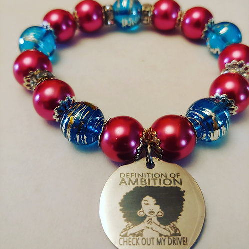Definition of Ambition Charm Bracelet