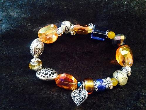 Yellow Blues Women's Bracelet