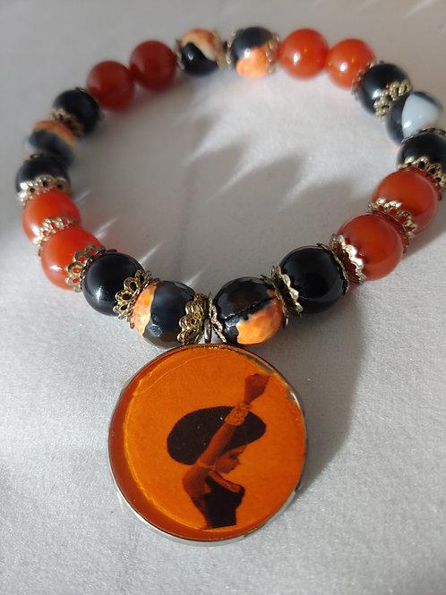 Black Pride Charm Bracelet