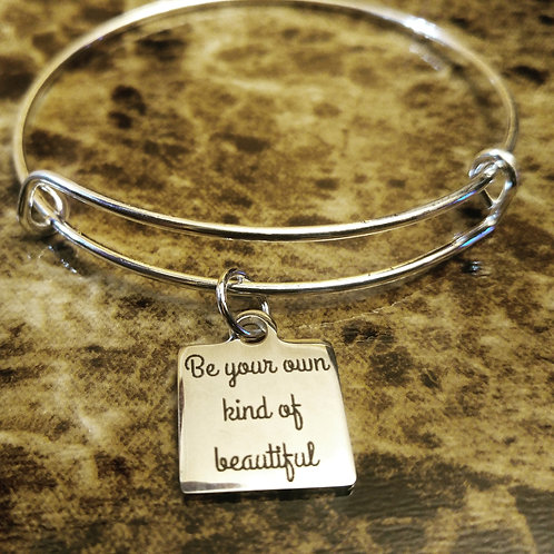 Be Your Own Kind of Beautiful Bracelet