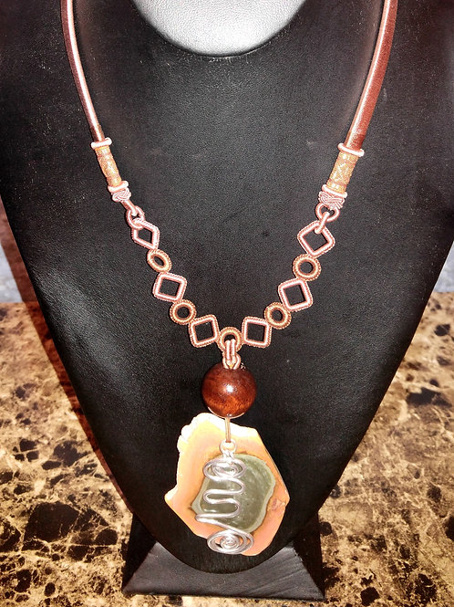 Bold Agate Necklace
