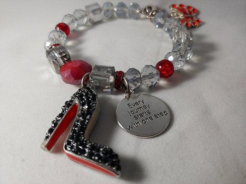 One Step Charm Bracelet