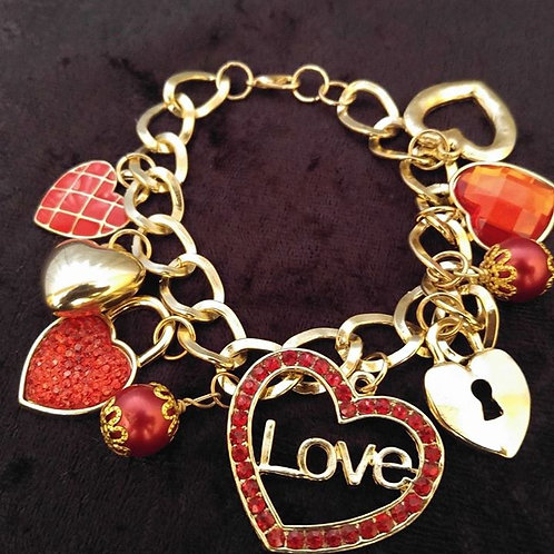 Hearts Of Love Bracelet