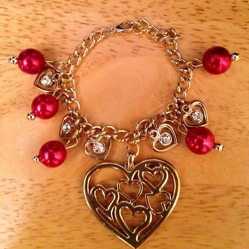 Hearts of Hearts Bracelet
