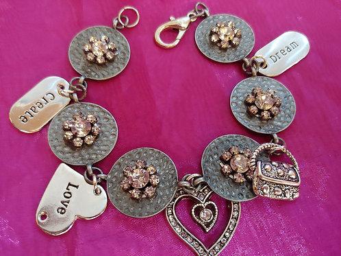 Dream Create Love Bracelet