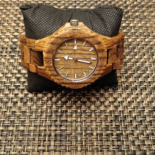 Men's Natural Wood Watch