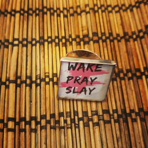 DOLLed Up Expressions Ring -Wake Pray Slay
