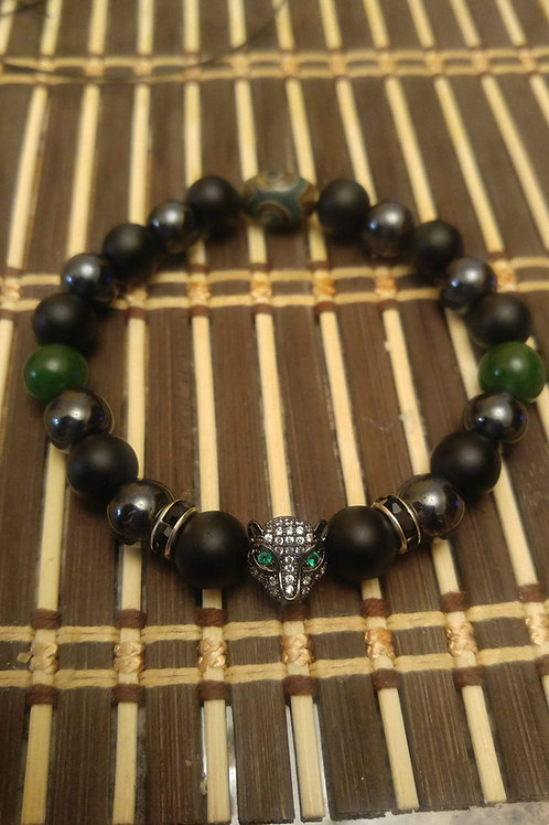 Men's Black Panther Bracelet
