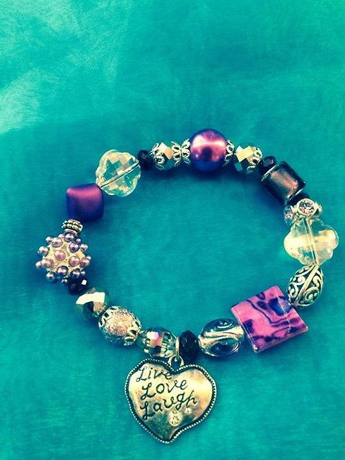 Purple Love Women's Bracelet