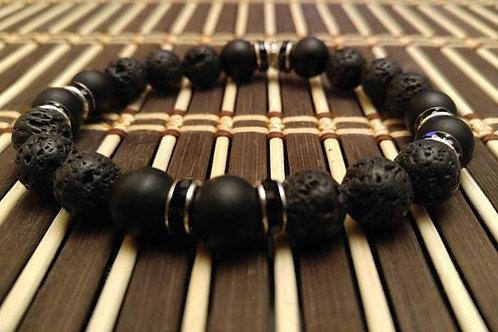 Black Knight Rising Mens Bracelet