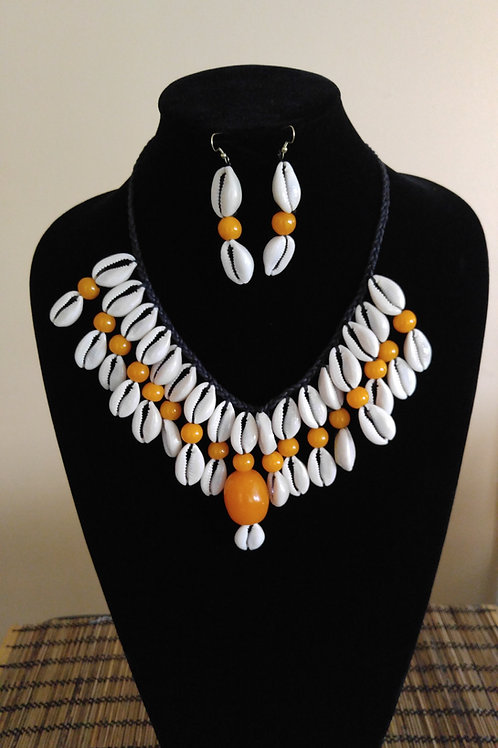 African Style Statement Necklace Set