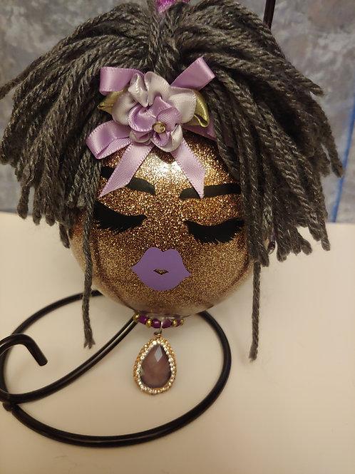 Dolled Up Grandma Ornament