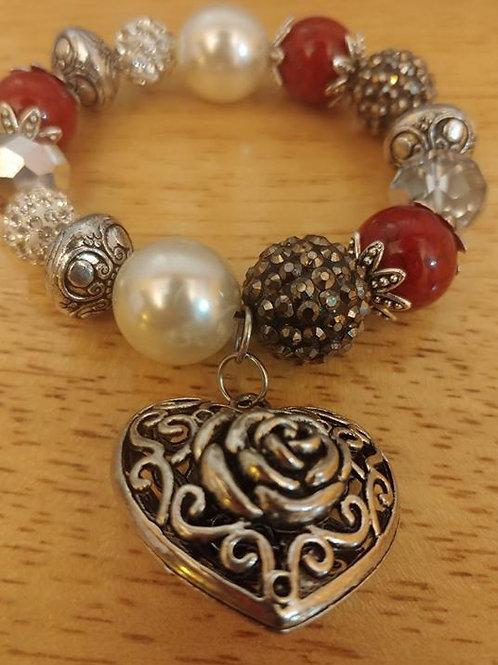 Heart of Roses Bracelet
