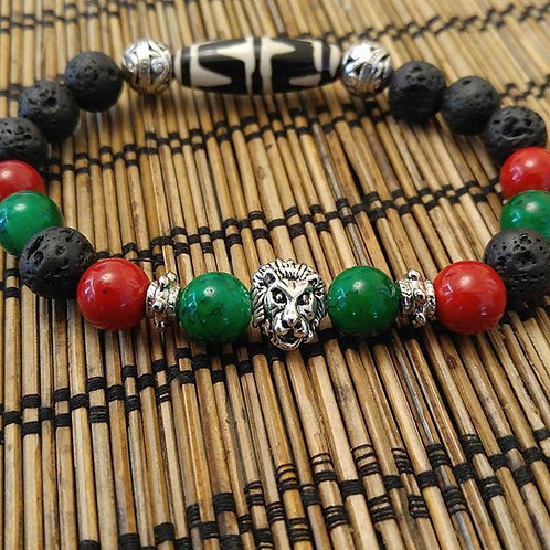 Men's African Lion King Bracelet