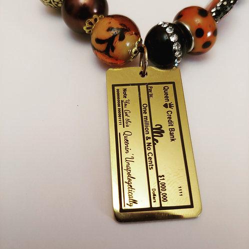 Queen Credit Bracelet