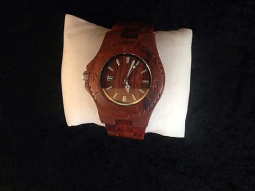 Men's Natural Wooden Watch