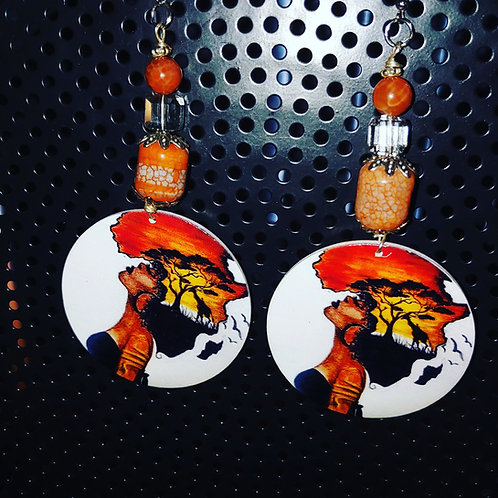 """Africa On My Mind"" Earrings"