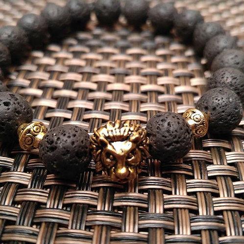 Men's Lions Head Bracelet