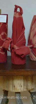 Technique japonaise Shibori sur coton bio et lin