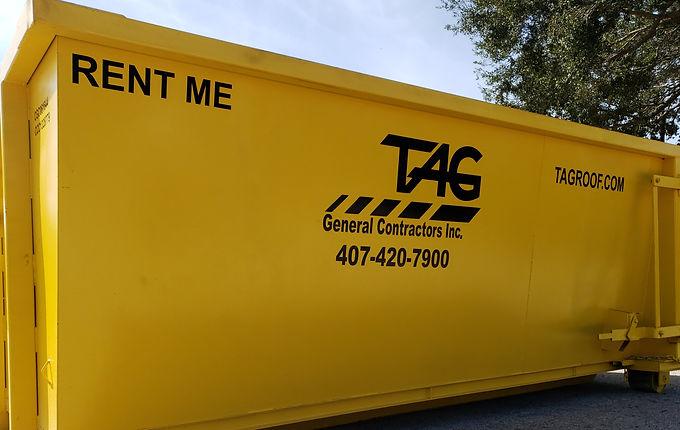 TAG Dumpster Rental of Orlando and Panama City