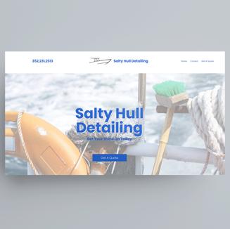 Salty Hull Detailing