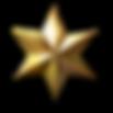 estrela dourada