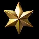 étoile dorée