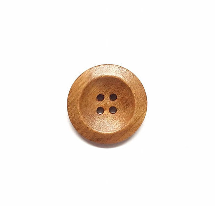 Wooden Dish Button Style #1