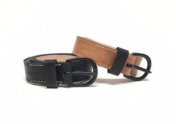 Civilian Heel Bar Buckle Belt