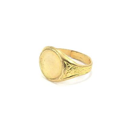 Men's Signet Pinky Ring