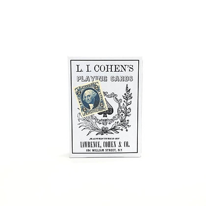 L. I. COHEN Playing Cards