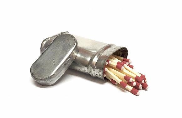 Tin Upright Match Safe