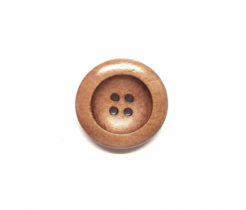 Wooden Dish Button Style #2