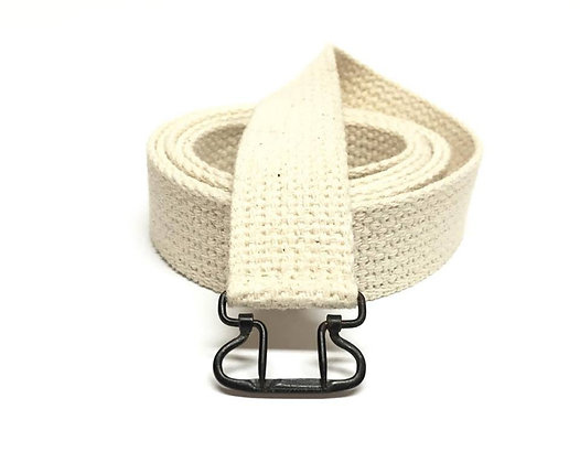 Cotton Webbing Canteen Strap With Original Buckle