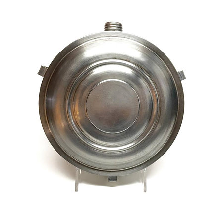 1858 Patent Screw Top Tin Drum Canteen