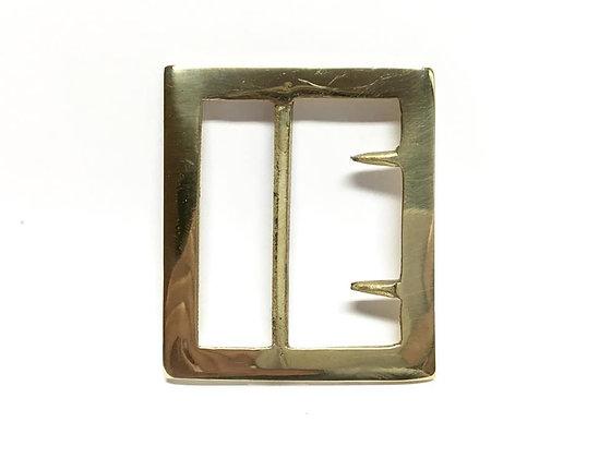 Georgia Frame Brass Buckle