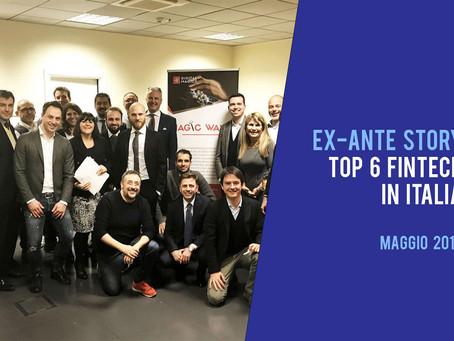 Top 6 Startup FinTech in Italia