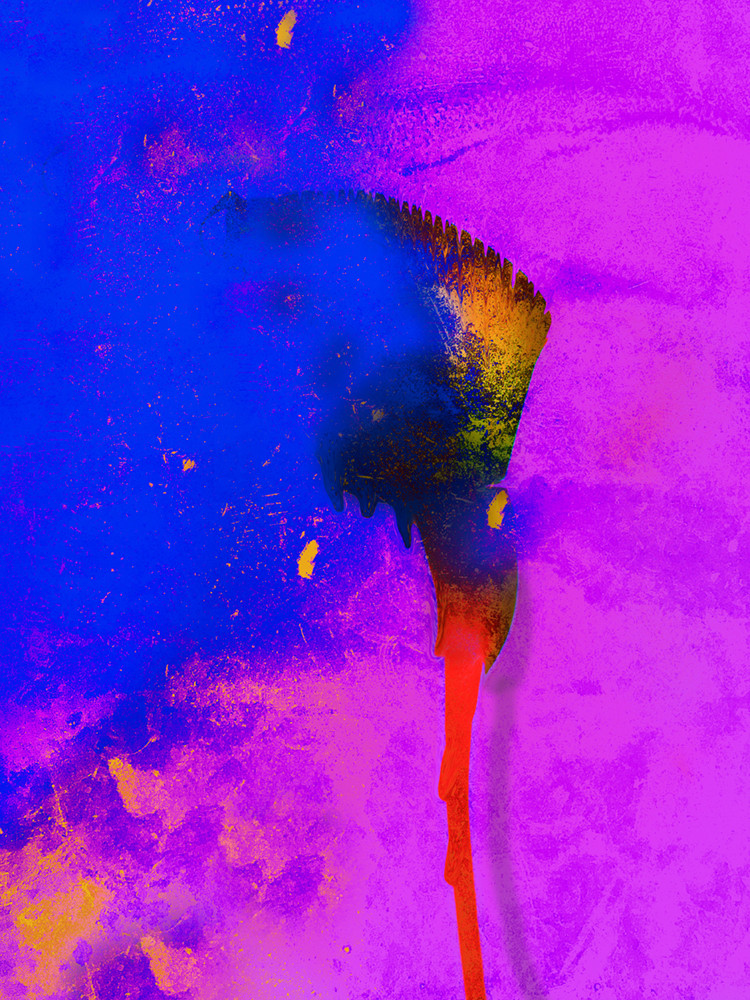 YVES KLEIN – THE DAY BEFORE HE INVENTED HIS OWN BLUE
