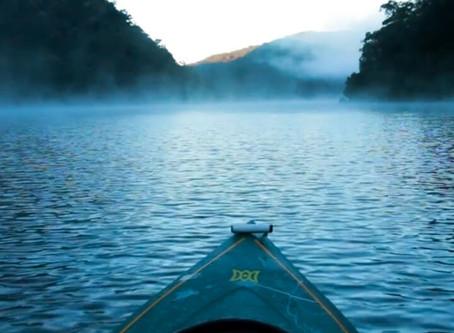 Berowra by canoe - video