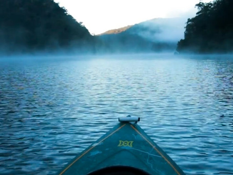Berowra by canoe - video