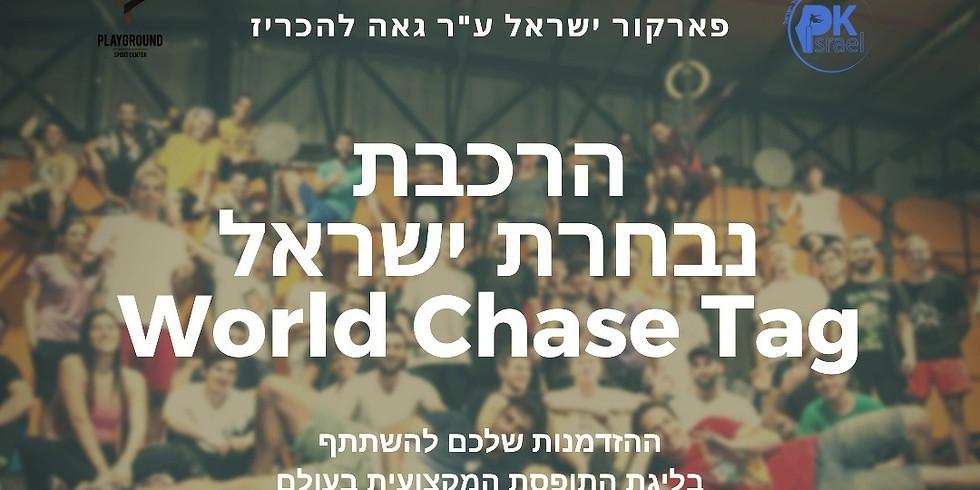 מבחני קבלה לנבחרת ישראל ב WCT