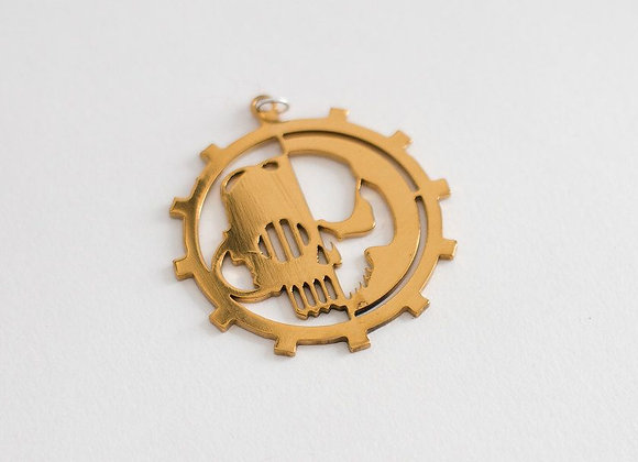 Golden color Adeptus Mechanicus Small size pendant